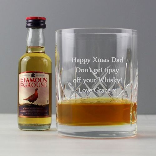 Cut Crystal & Whisky Gift Set